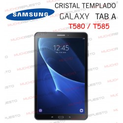 "PROTECTOR CRISTAL TEMPLADO SAMSUNG Galaxy Tab A T580 - T585 10,1"""