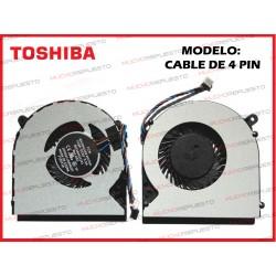 VENTILADOR TOSHIBA L50-A /L50D-A /L50T-A /L55-A /L55D-A (MODELO 4PIN)