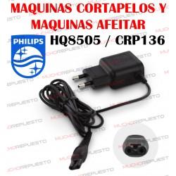 CARGADOR MAQUINA AFEITAR Y CORTAPELOS PHILIPS HQ8505 / CRP136 15V 380mAh