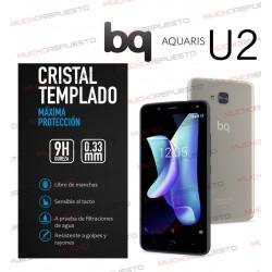 PROTECTOR CRISTAL TEMPLADO BQ AQUARIS U2