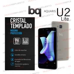 PROTECTOR CRISTAL TEMPLADO BQ AQUARIS U2 LITE