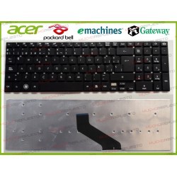 TECLADO Gateway NV52L/NV55S/NV56R/NV57H/NV75S/NV77H (Sin Marco)