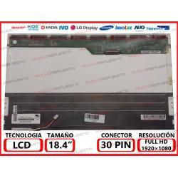 """PANTALLA 18.4"""" LCD..."""