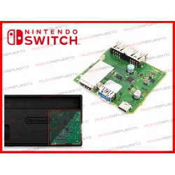 MODULO USB 2.0 + USB 3.0 + USB CARGA +HDMI (BASE CARGA NINTENDO SWITCH)