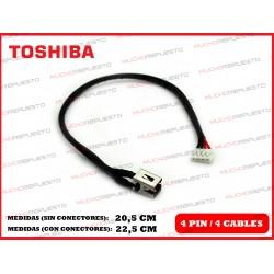 CONECTOR ALIMENTACION TOSHIBA Satellite C850 / C850D / C855 / C855D (2)