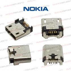 CONECTOR MICRO USB NOKIA...