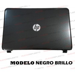 LCD BACK COVER HP 250 G3/255 G3/256 G3/15-G/15-H/15-R/15-T/15-Z (NEGRO BRILLO)