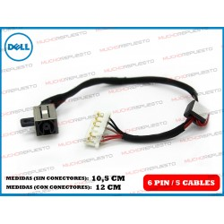 CONECTOR ALIMENTACION DELL Inspiron 14-5000 / 14-5455 / 14-5458