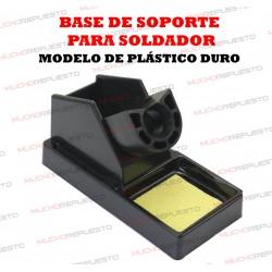 BASE DE SOPORTE RECTANGULAR PARA SOLDADOR (Modelo 1)