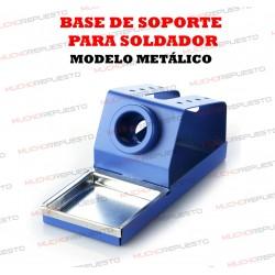 BASE DE SOPORTE RECTANGULAR PARA SOLDADOR (Modelo 2)