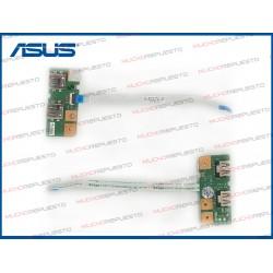 PLACA CONECTORES USB + CABLE ASUS TP550 /TP550L /TP550LA /TP550LD