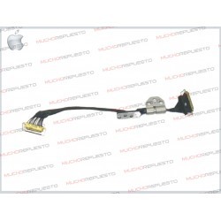 CABLE LCD APPLE / MAC + BISAGRA A1369 / A1466 (2012 / 2013 / 2014)