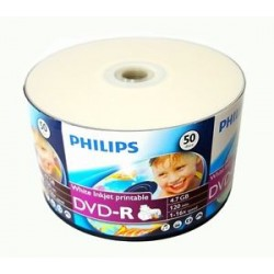 TARRINA 25 DVD+R PHILIPS...