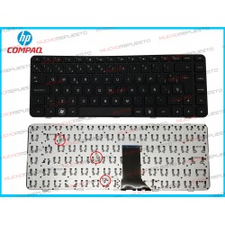 TECLADO HP DM4-1000 / DM4-2000 / DV5-2000 Series (Con Marco)