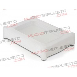 COVER PROTECCION SILICONA TRANSPARENTE HDD 3.5""