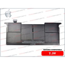 "BATERIA APPLE 7.3V Macbook Air A1370 / A1375 (2010) 11"" Negra"