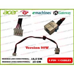 CONECTOR ALIMENTACION ACER Aspire E5-571 / E5-571G / E5-571P