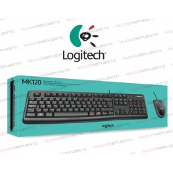 TECLADO + RATON USB LOGITECH MK120