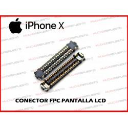 CONECTOR FPC PANTALLA LCD IPHONE X