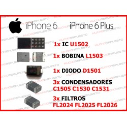 PACK CHIPS IC ILUMINACION IPHONE 6 / IPHONE 6 PLUS