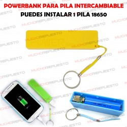 CAJA DE POWERBANK CON USB...