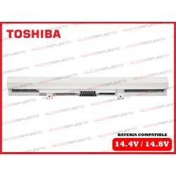 BATERIA TOSHIBA 14.4V-14.8V C55-B/C55D-B/C55DT-B/C55T-B BLANCA