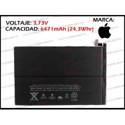 BATERIA TABLET IPAD Mini 3 3.73V 24.3Whr 6471mAh (A1599 / A1600)