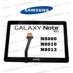 """CRISTAL+TACTIL TABLET SAMSUNG Galaxy Note N8000 /N8010 /N8013 10,1"""" NEGRO"""