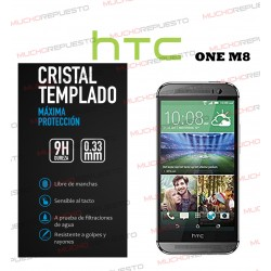 PROTECTOR CRISTAL TEMPLADO HTC ONE M8