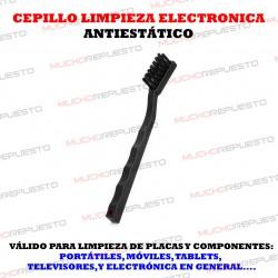 CEPILLO ANTIESTÁTICO PARA LIMPIEZA PLACAS / COMPONENTES ELECTRONICOS