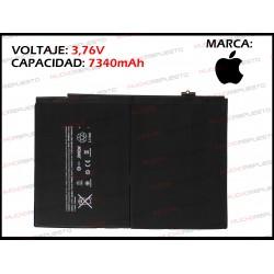BATERIA TABLET IPAD AIR 2 3.73V 27.62Whr (A1547 / A1566 / A1567)