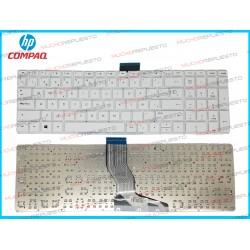 TECLADO HP 256 G6 / 256-G6 (Sin Marco) BLANCO