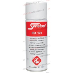 ALCOHOL ISOPROPILICO BOTE 400ml SERVISOL IPA 170 SPRAY