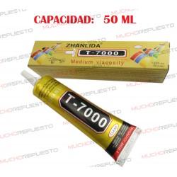 PEGAMENTO UNIVERSAL RAPIDO T7000 50ml (Instalación teclados remachados portátiles)