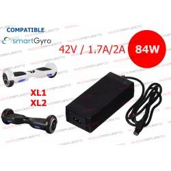 CARGADOR COMPATIBLE PATINETE SMARTGYRO XL1 / XL2 42V 2A 84W 3PIN