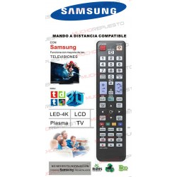 MANDO A DISTANCIA TV PARA SAMSUNG (COPIA EXACTA AL ORIGINAL) (Modelo 3) 3D