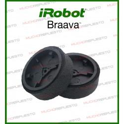 PACK 2 RUEDAS IROBOT BRAAVA 320 / 380T / 390T
