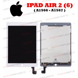 PANTALLA COMPLETA TABLET IPAD AIR2 (A1566 , A1567) BLANCA