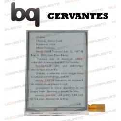 PANTALLA LCD EBOOK / LIBRO ELECTRICO BQ CERVANTES