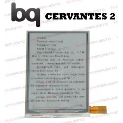 PANTALLA LCD EBOOK / LIBRO ELECTRICO BQ CERVANTES 2