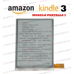 PANTALLA LCD EBOOK / LIBRO ELECTRICO AMAZON KINDLE 3 (VERSION 2)