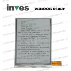 PANTALLA LCD EBOOK / LIBRO ELECTRICO INVES WIBOOK 660LT