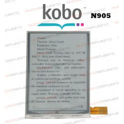 PANTALLA LCD EBOOK / LIBRO ELECTRICO KOBO N905 / BILLOW E03FL