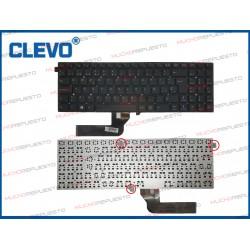 TECLADO CLEVO W550 / W550AU...