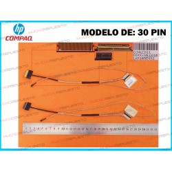 CABLE LCD HP 15-AU / 15-AUxxx Series (Modelo 30PIN)