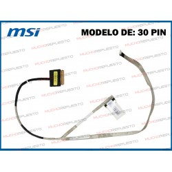 CABLE LCD MSI GE62 2QC /...