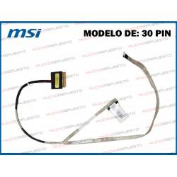 CABLE LCD MSI GL62M / GL62M 7RD / GL62M 7REX (Modelo 1)