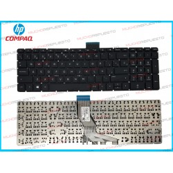 TECLADO HP 258 G6 / 258-G6 (Sin Marco) NEGRO