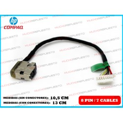 CONECTOR ALIMENTACION HP Envy 15-AE / 15-AExxx Series
