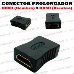 CONECTOR PROLONGADOR HDMI A/HEMBRA - A/HEMBRA